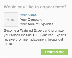Become a mosaicHUB Featured Expert